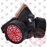 маска респиратор с двумя фильтрами (угольные фильтра) Intertool