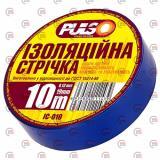 изолента 10м х 19мм х 0,13мм синяя Pulso
