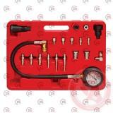 компрессометр 70 Атм дизель с шлангом и переходниками (кейс) Intertool