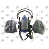 маска респиратор с двумя фильтрами (аналог ЗМ)