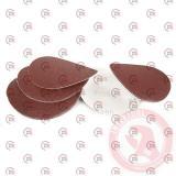 круг шлифовальный самоклеющийся наждачный 125мм (зерно 100)  120г/м2 10шт