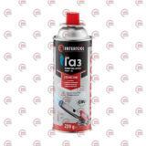 баллон газовый изобутан-бутан 220 г для горелки +45/-40°С Intertool  (выписывать кратно 4)