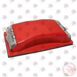 блок шлифовальный 100 х 210 мм (металлические зажимы) Intertool