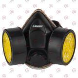 маска респиратор с двумя фильтрами (угольные фильтра) Sigma