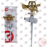дождеватель пульсирующий с полной/частичной зоной полива на костыле до 12м  (под заказ)