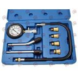 компрессометр 20 Атм бензин с шлангом, 6 переходников (футляр) Satra
