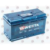 Аккумулятор   Westa  100Ач (850A) premium Евро прав +
