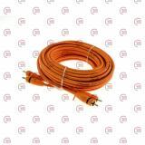 провод акустический  межблочный 2RCA - 2RCA с управл. провод, 5м  для подключения усилителя