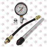 компрессометр 16 Атм бензин длинный + гибкий шланг, 1 трубка