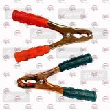 крокодилы 160 мм/медь/ширина 100мм/под пусковые провода 300-500А (в упак.)