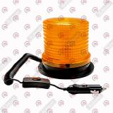 мигалка желтая LED 12/24В, прикуриватель, магнит