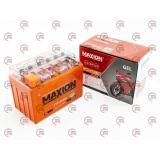 акб  12V11А гелевый (150х87х110) MAXION оранжевый
