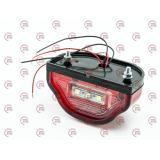 подсветка номера  универсальная LED COBRA красный корпус